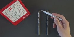Embedded thumbnail for Сравнение сверл средней серии класса А и класса В, сталь Р6М5, ГОСТ 10902-77