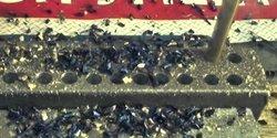 Embedded thumbnail for Сверло спиральное с цилиндрическим хвостовиком средней серии класс А, покрытие нитрид-титан, сталь Р6М5, ГОСТ 10902