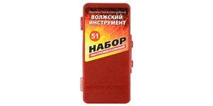 Набор сверл по металлу №51 Под резьбу, (3-12), 32 предмета